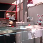 Balcão decorado - Páscoa no Restaurante da Apetece