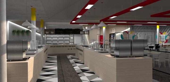 Restaurante Apetece, serviço de buffet para grandes equipes